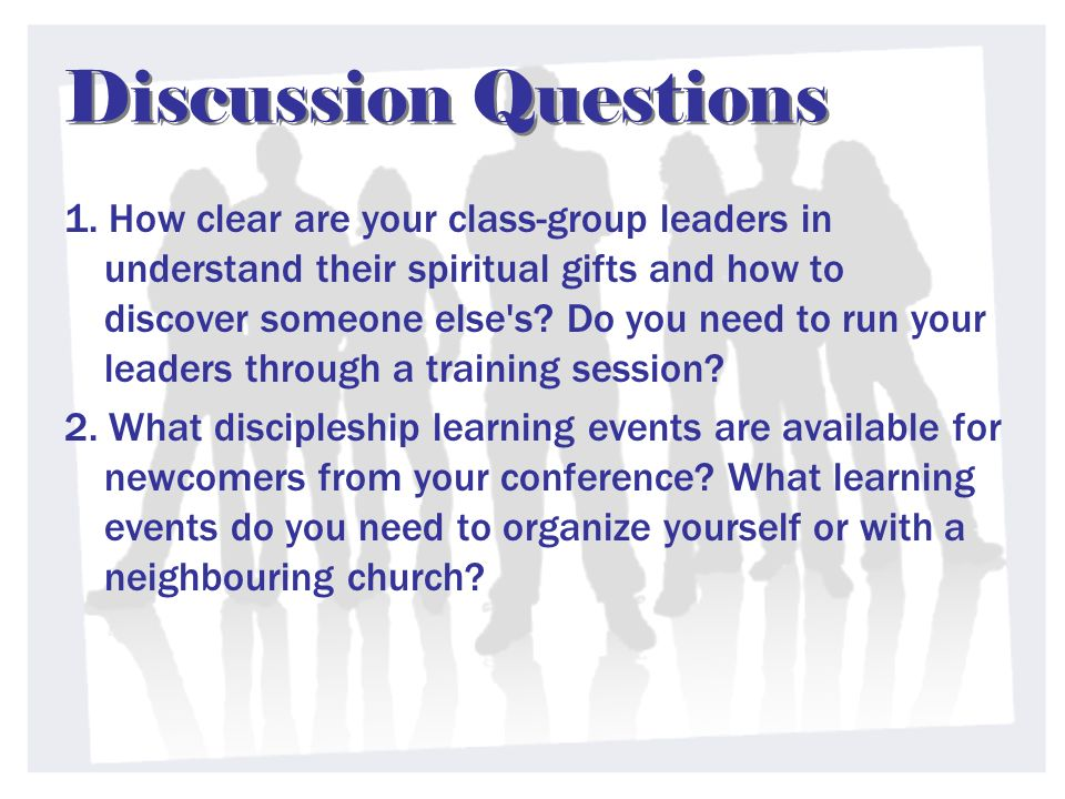 Discussion Questions 1.