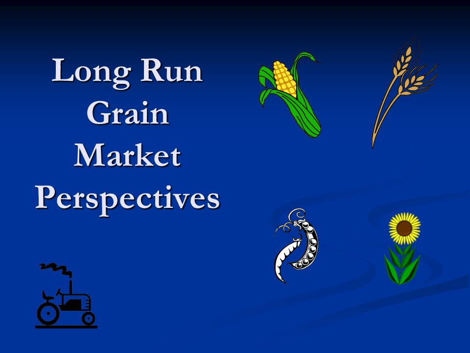 Long Run Grain Market Perspectives