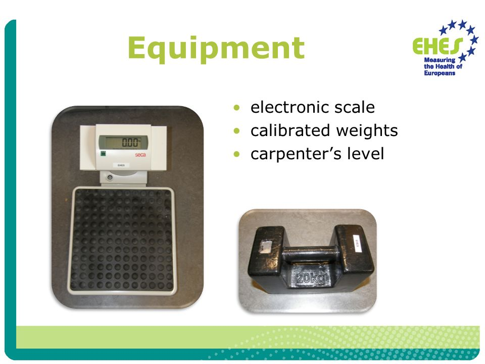 Equipment electronic scale calibrated weights carpenters level