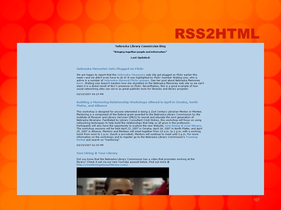 107 RSS2HTML