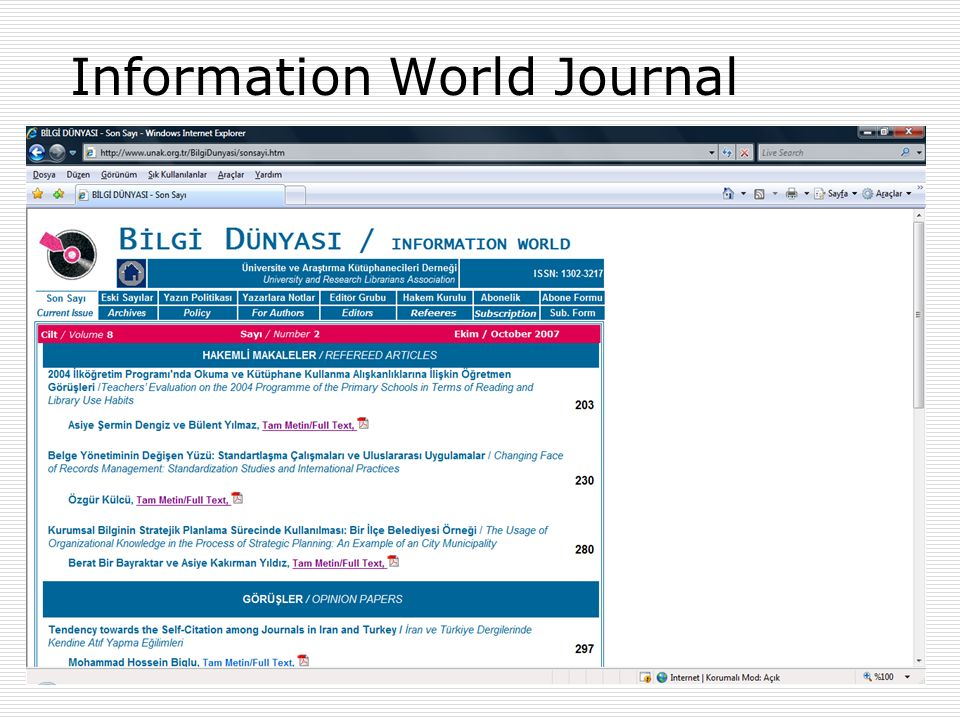 Information World Journal