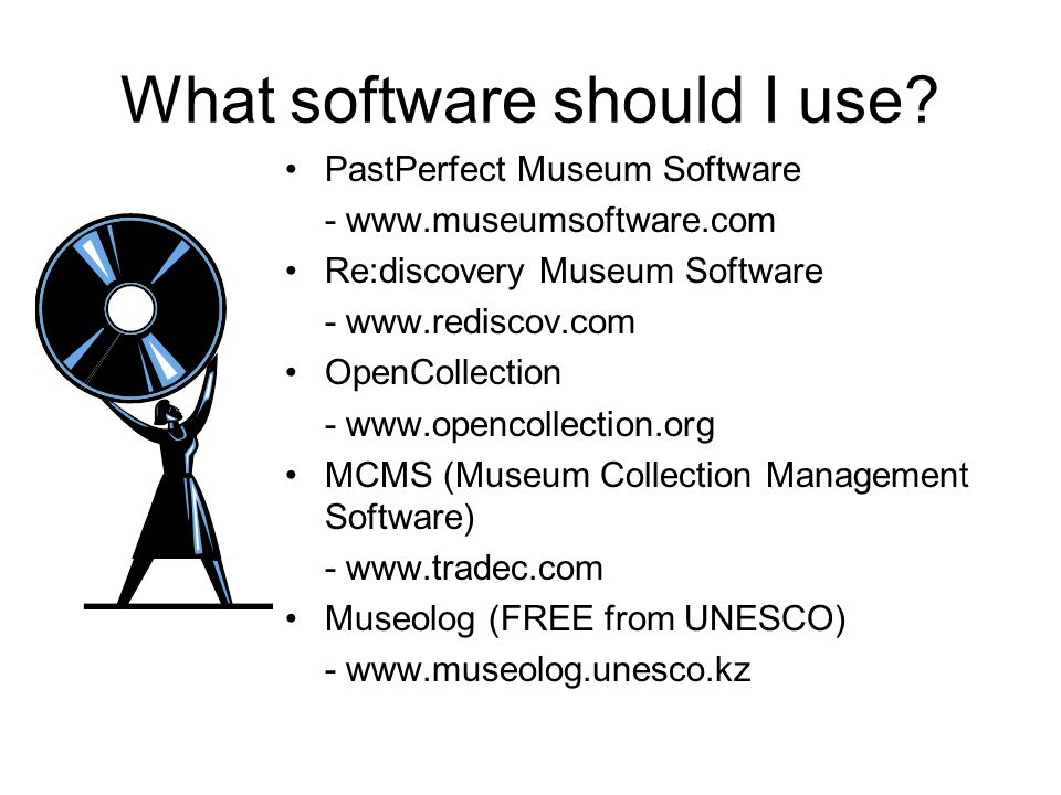 What software should I use.