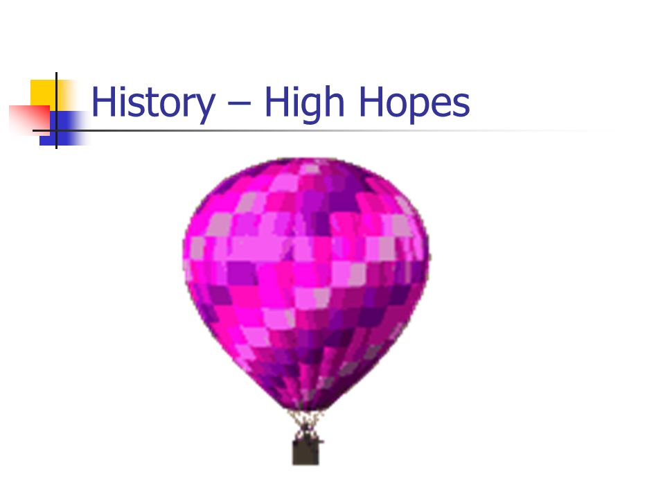History – High Hopes