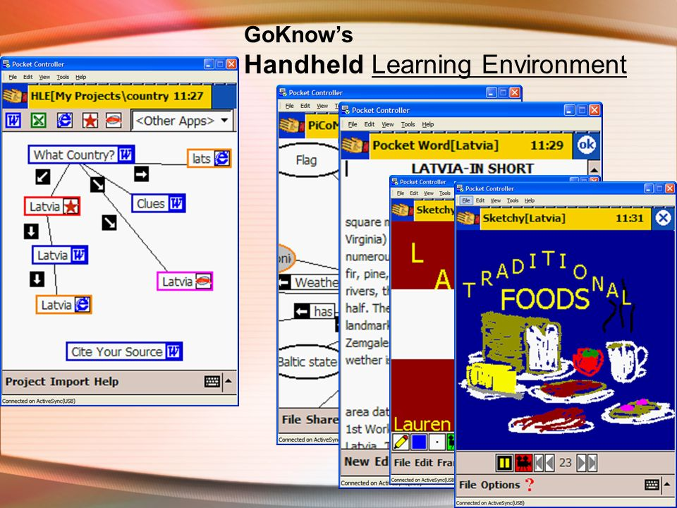 GoKnows Handheld Learning Environment