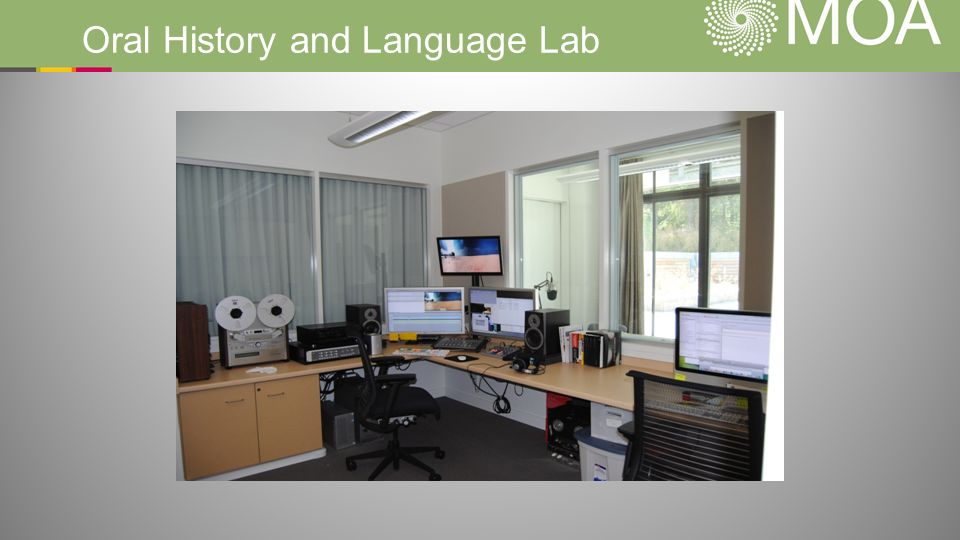 Oral History and Language Lab