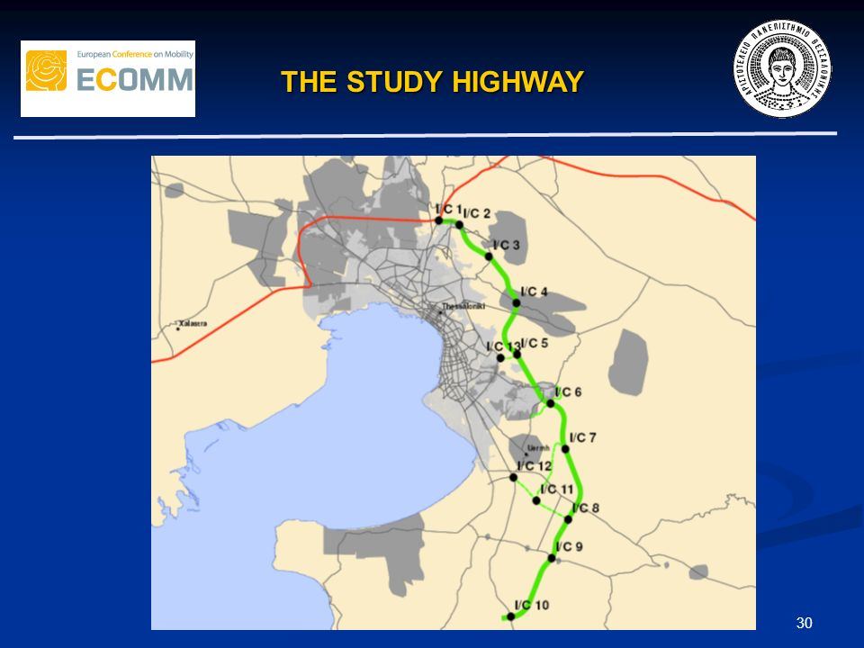 THE STUDY HIGHWAY 30