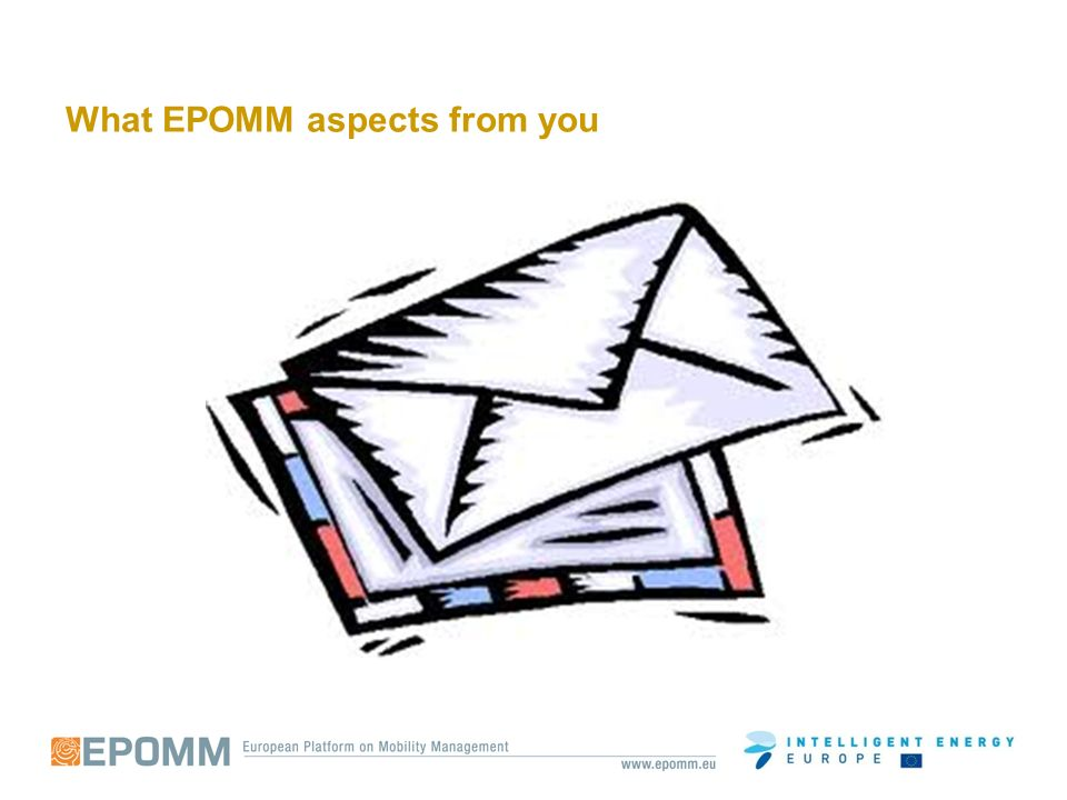 What EPOMM aspects from you