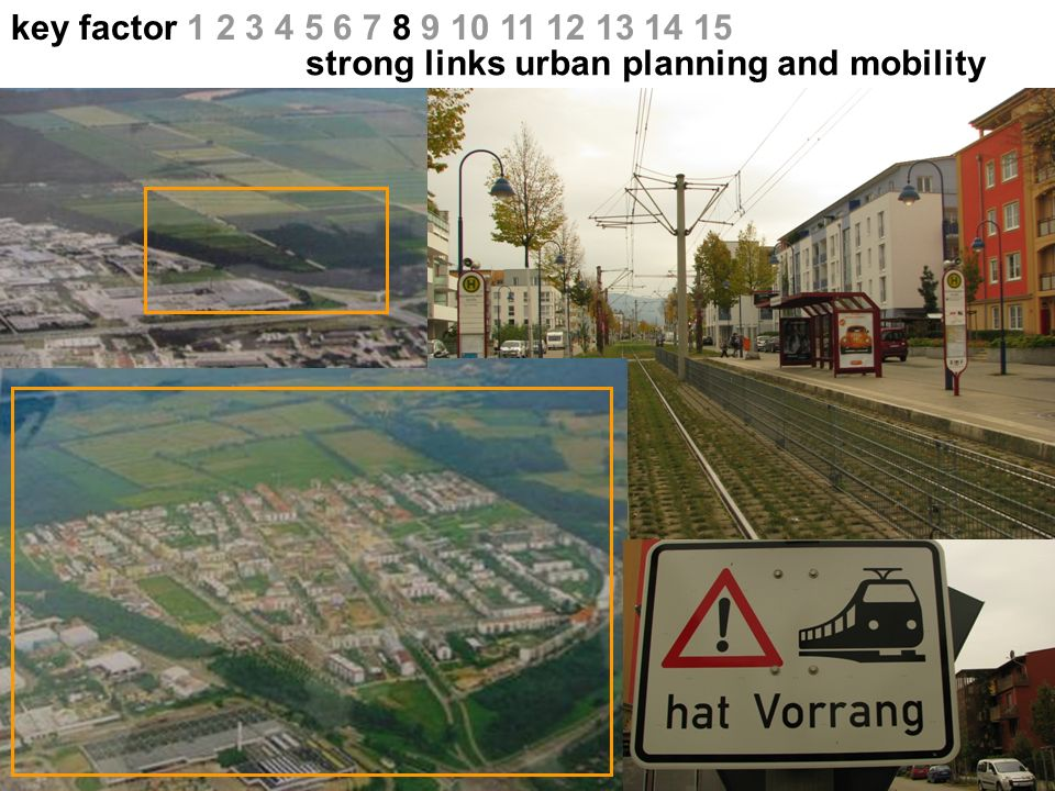key factor 1 2 3 4 5 6 7 8 9 10 11 12 13 14 15 strong links urban planning and mobility