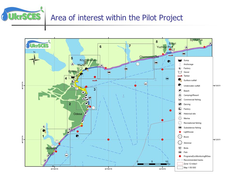 Area of interest within the Pilot Project
