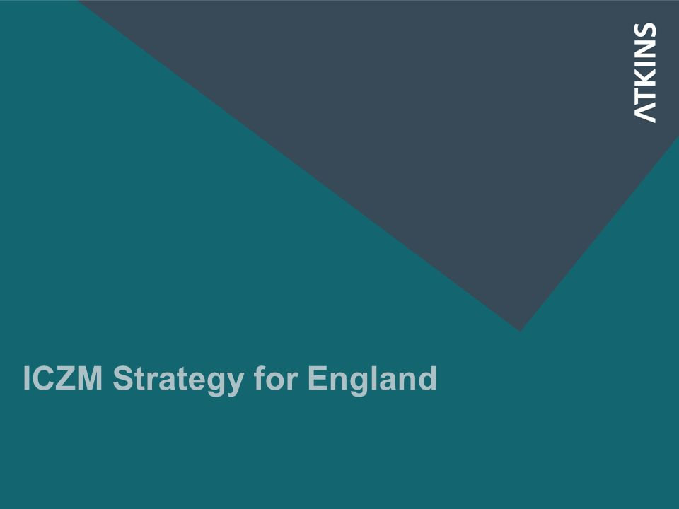 ICZM Strategy for England