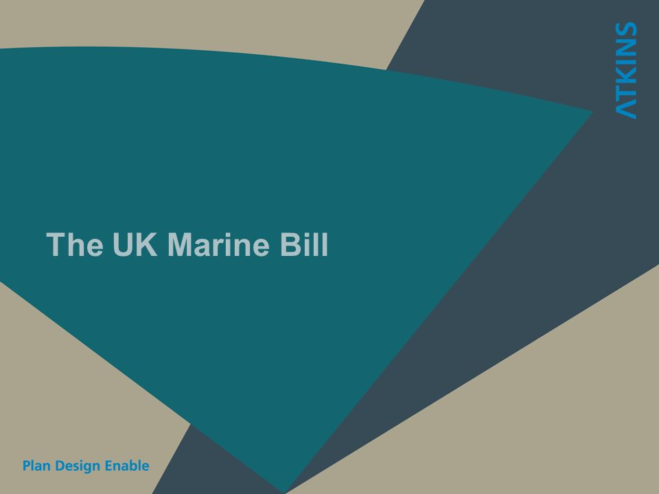 The UK Marine Bill