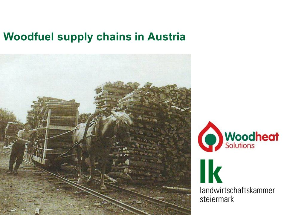 Woodfuel supply chains in Austria