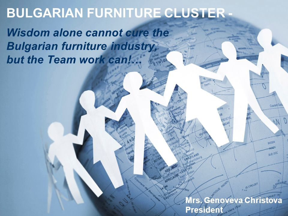 BULGARIAN FURNITURE CLUSTER - Mrs.