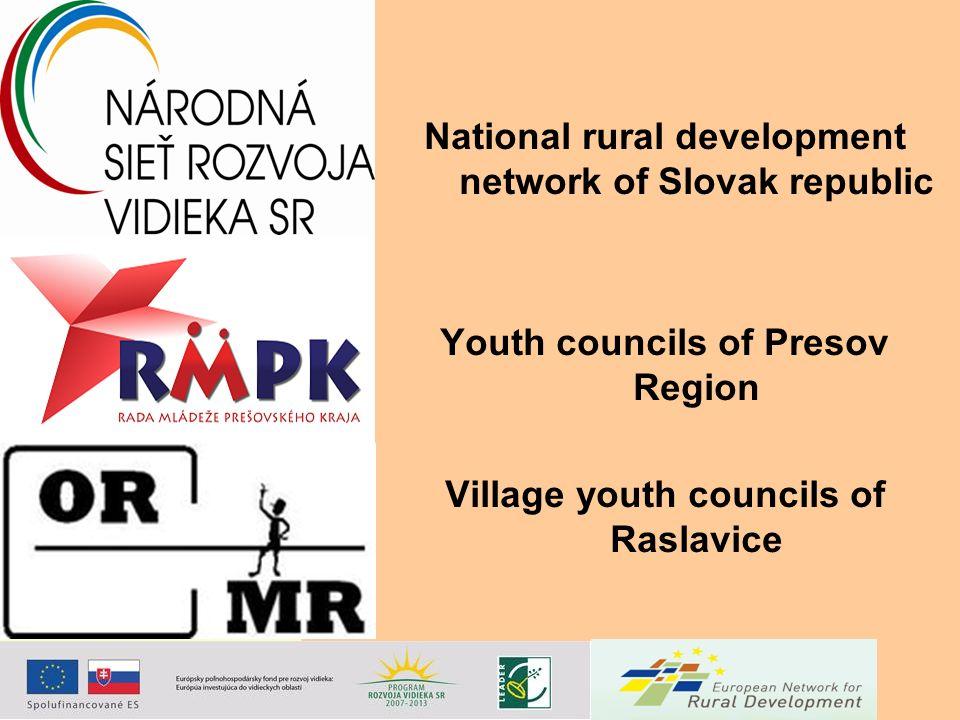 National rural development network of Slovak republic Youth