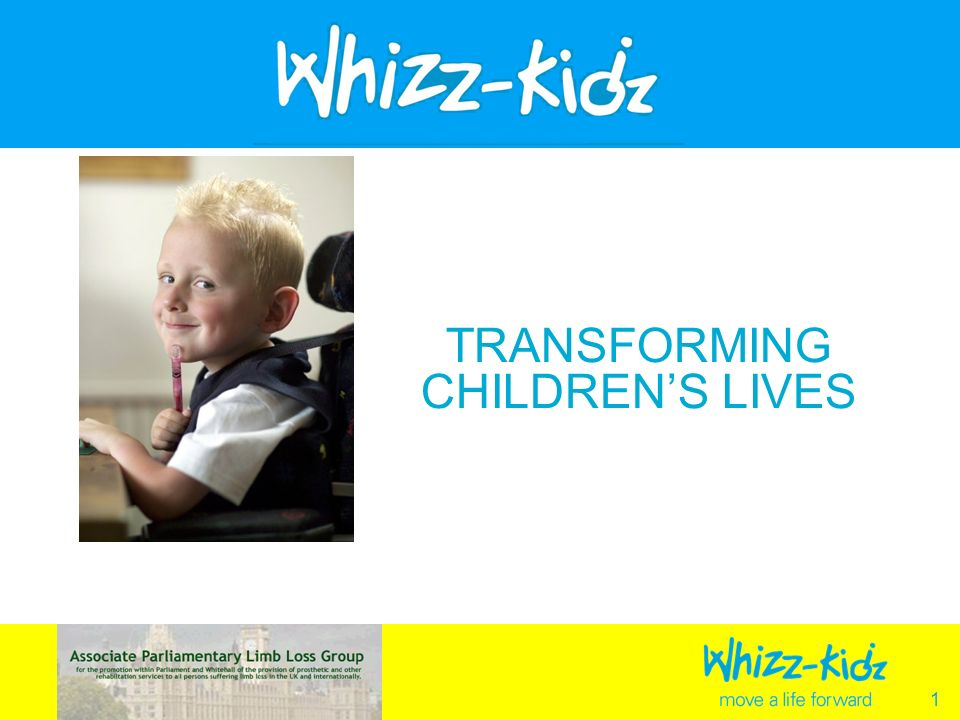 1 TRANSFORMING CHILDRENS LIVES