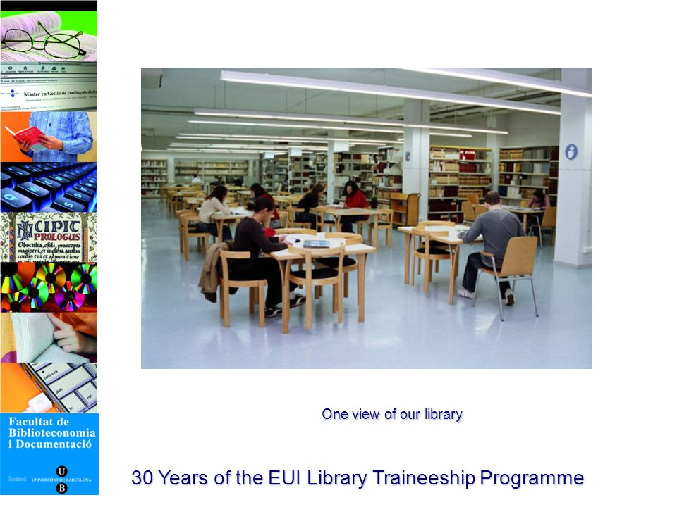 30 Years of the EUI Library Traineeship Programme International professional associations