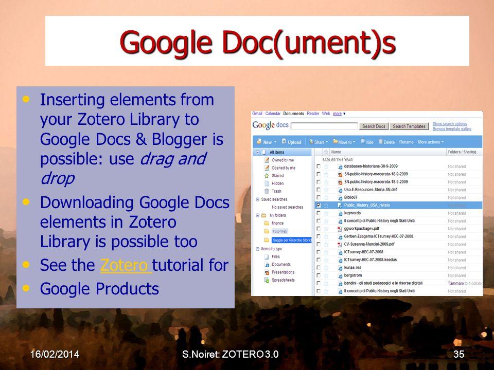 Introduction To Zotero 3 0 Standalone Mozilla Firefox Version