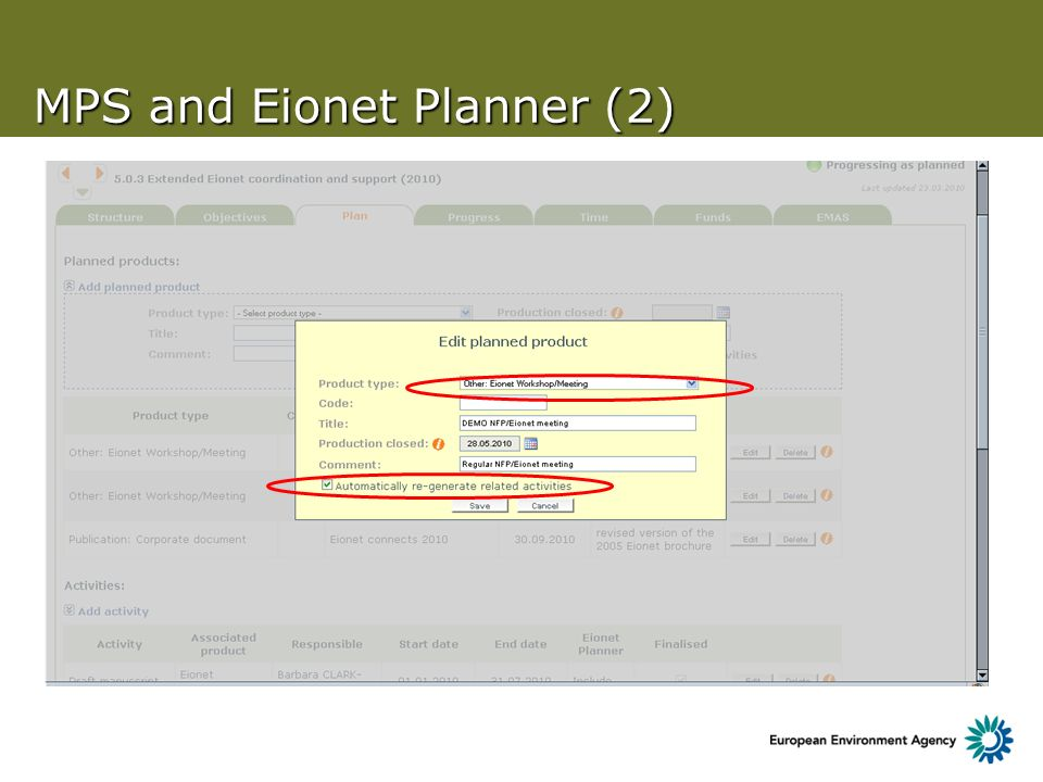 MPS and Eionet Planner (2)