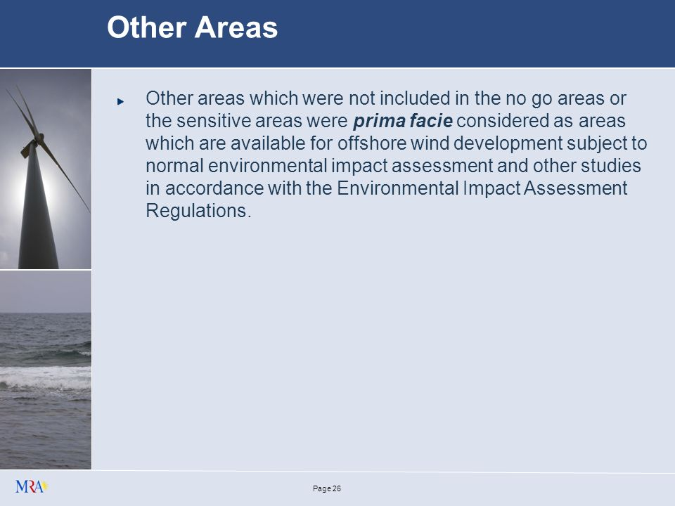 Page 25 Areas identified by MEPA as important from an environmental perspective (e.g.
