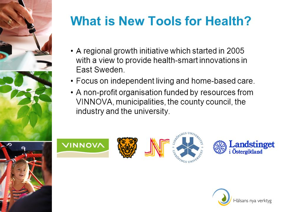 What is New Tools for Health.