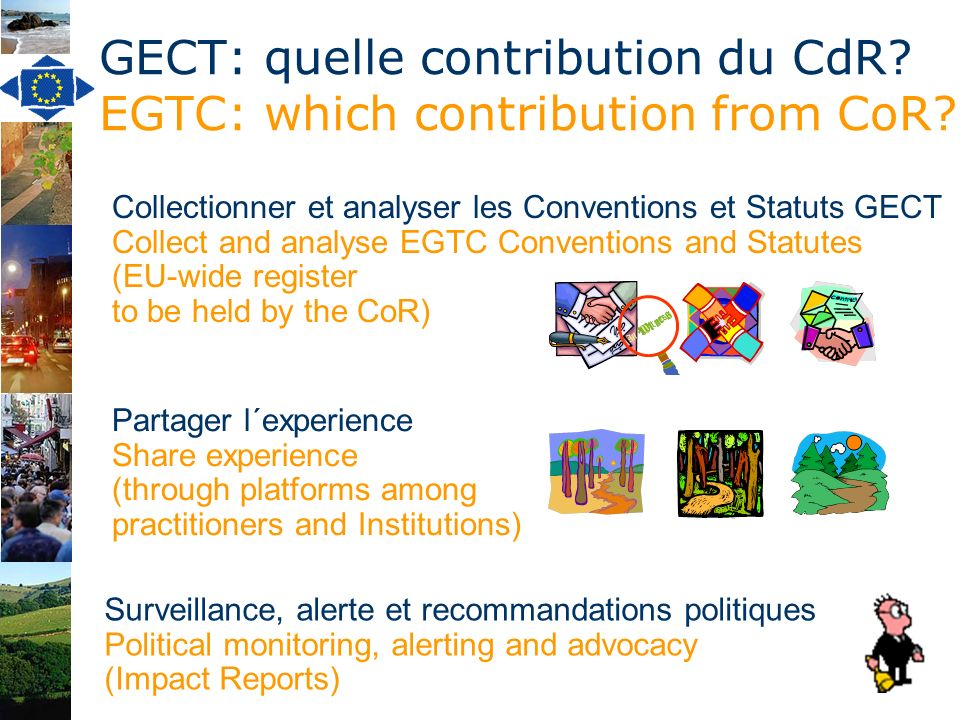 GECT: quelle contribution du CdR. EGTC: which contribution from CoR.