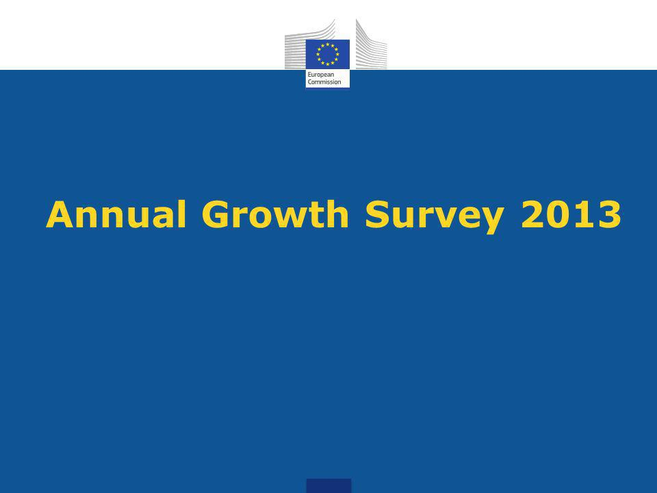 Annual Growth Survey 2013