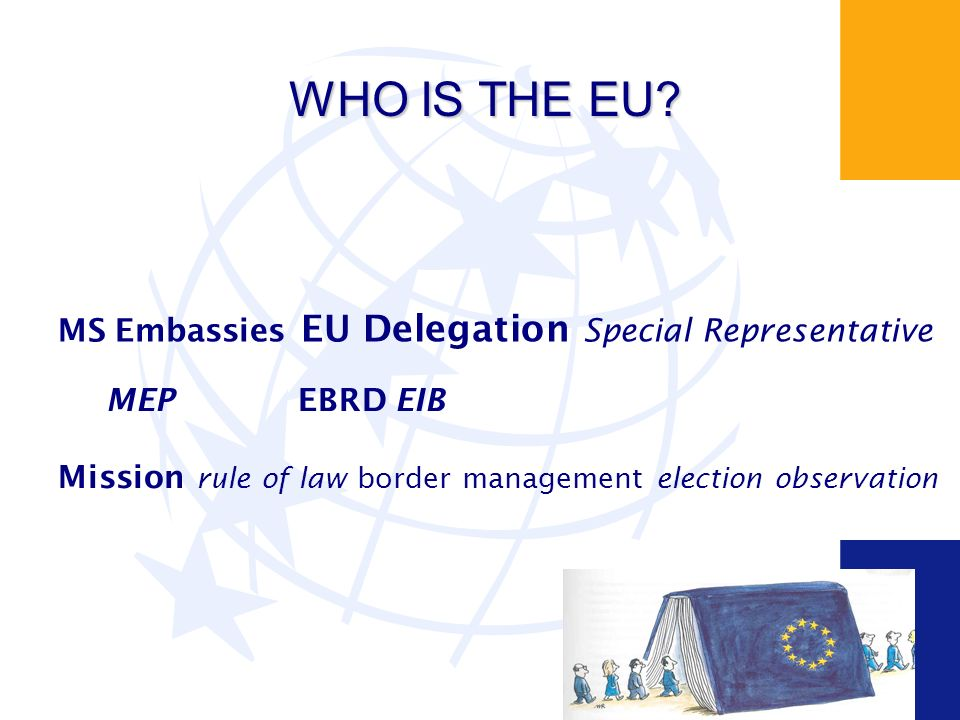WHO IS THE EU.