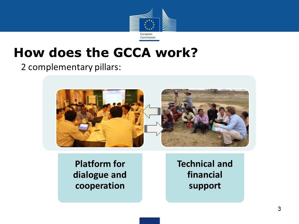 How does the GCCA work.
