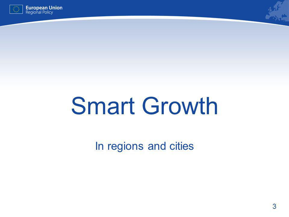 3 Smart Growth In regions and cities