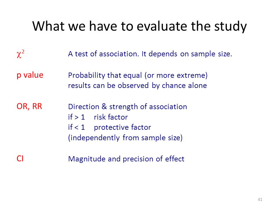 2 A test of association. It depends on sample size.