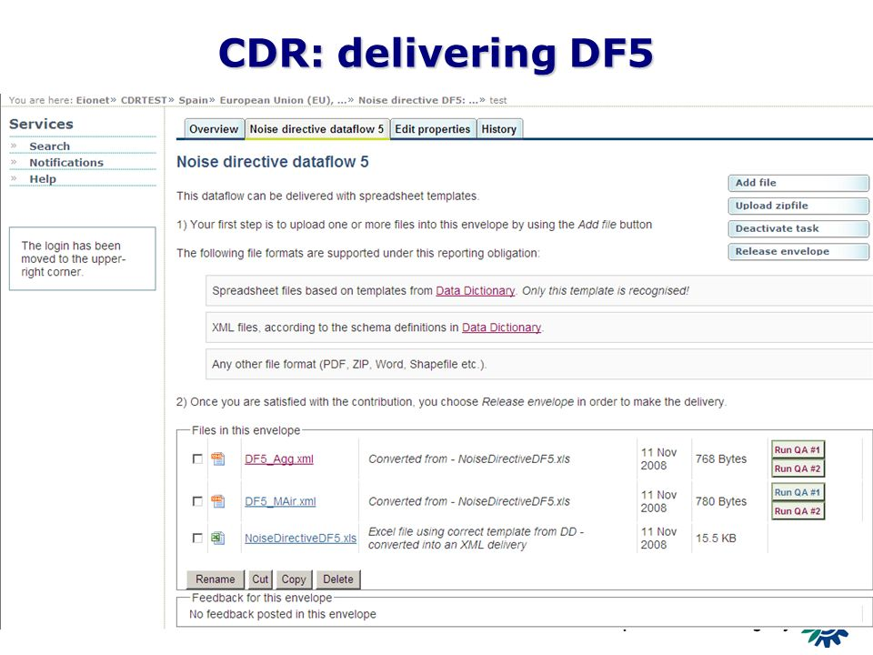 13 CDR: delivering DF5