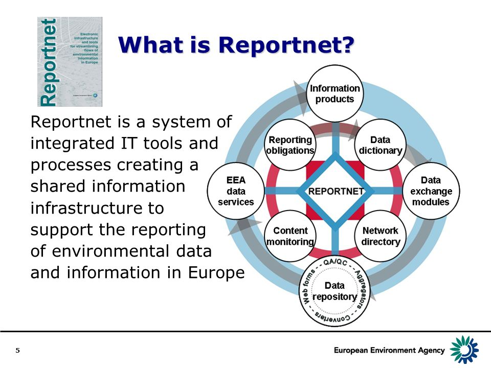 5 What is Reportnet.