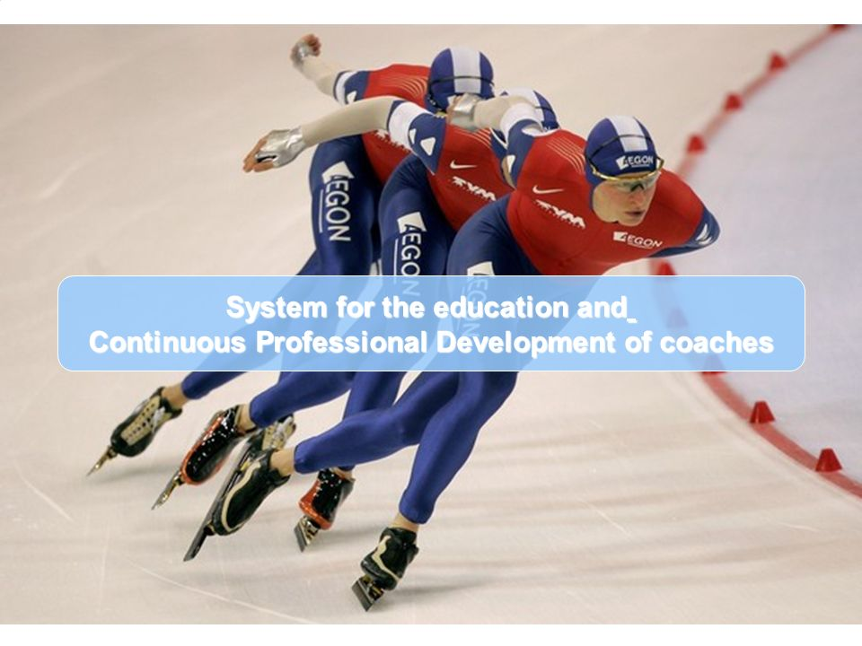 System for the education and Continuous Professional Development of coaches