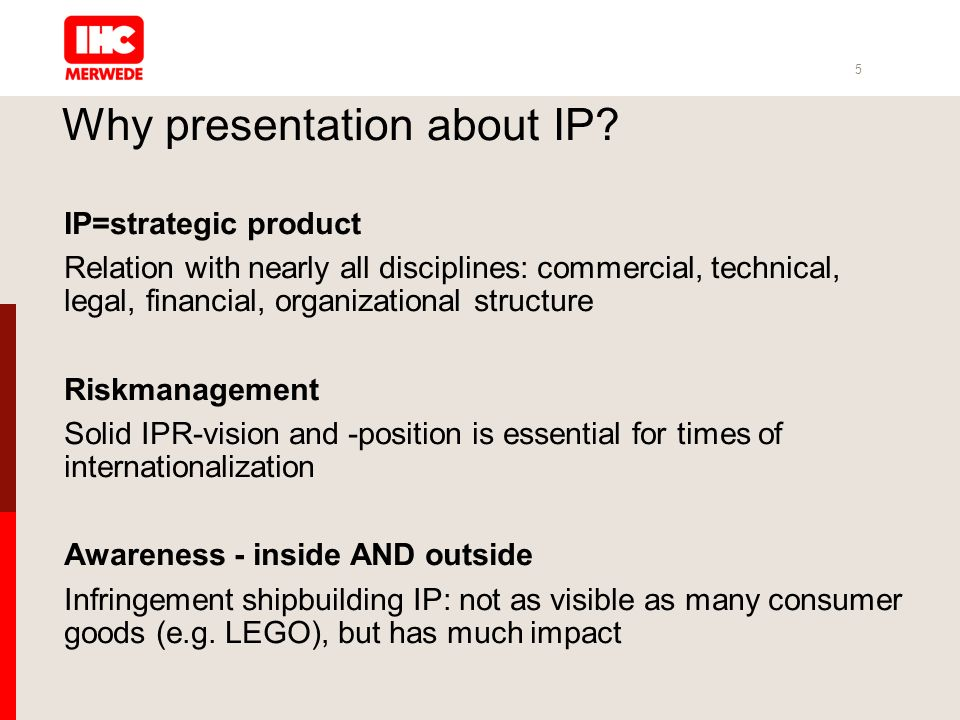 5 Why presentation about IP.