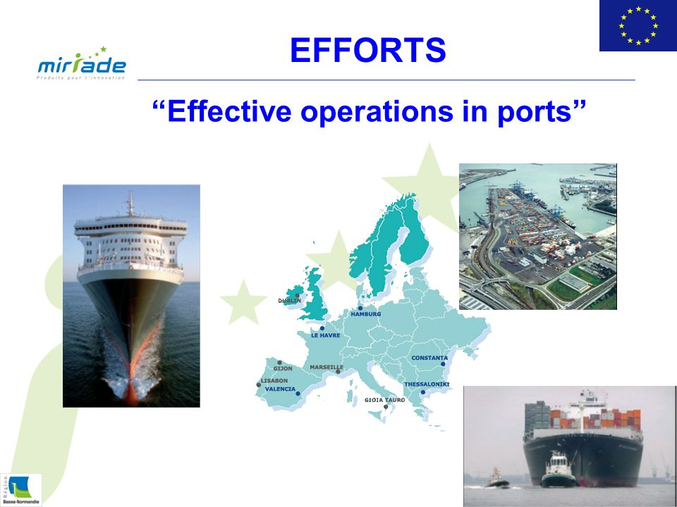 Effective operations in ports EFFORTS