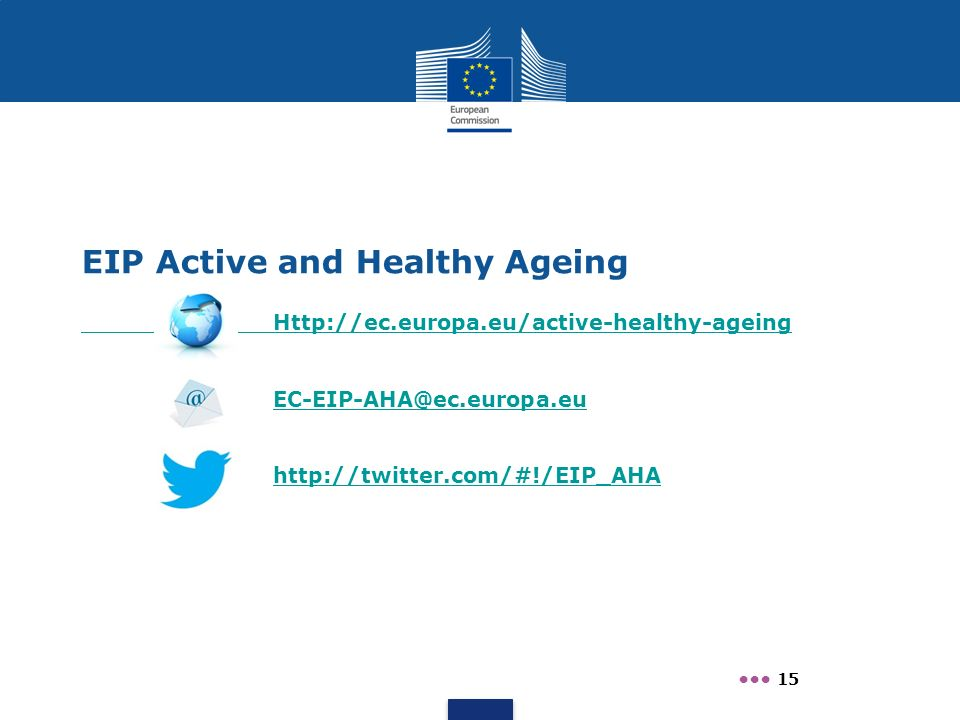 EIP Active and Healthy Ageing