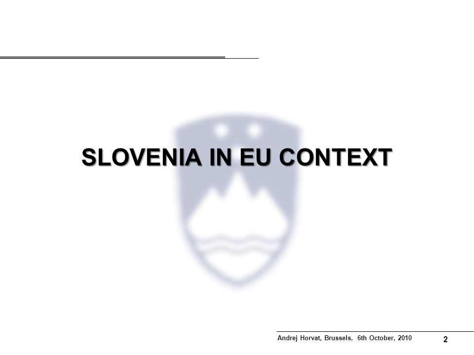 1 Contents Slovenia in EU context Situation in Pomurje Region… …and Place-Based Intervention What have we learned.