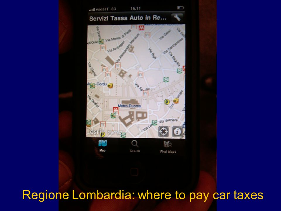 Regione Lombardia: where to pay car taxes