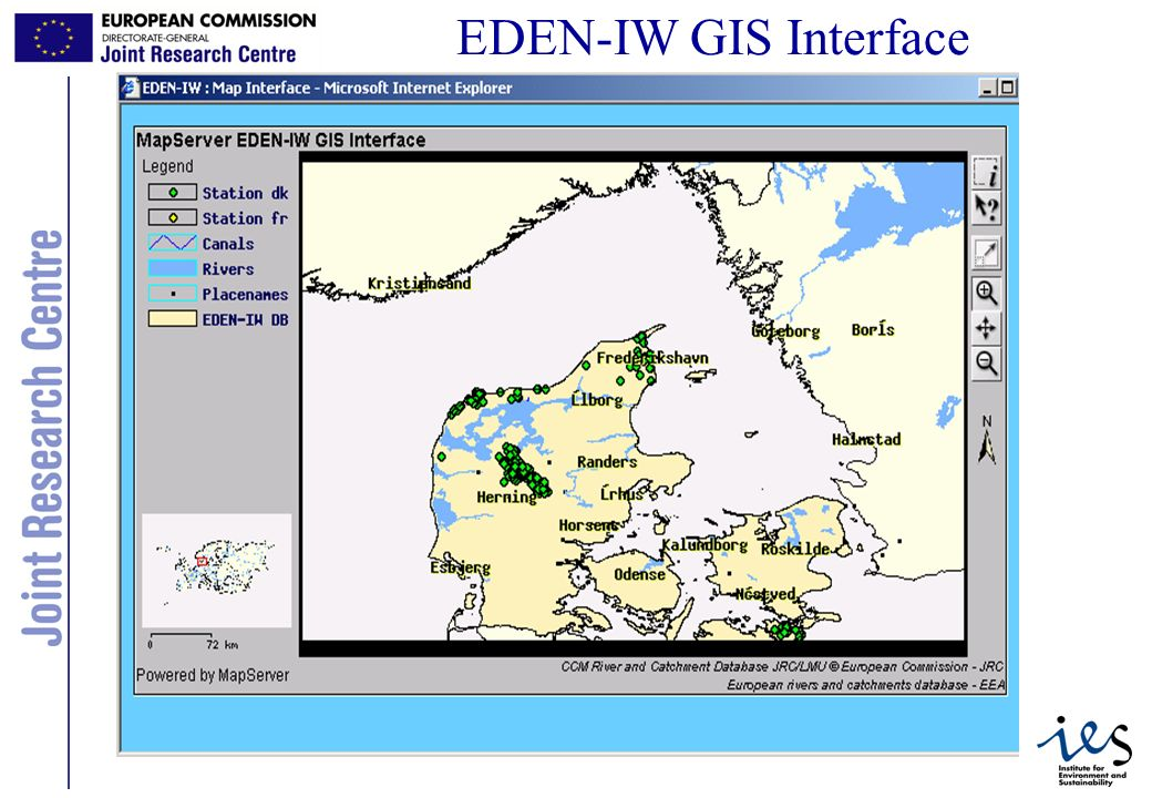 12 EDEN-IW GIS Interface