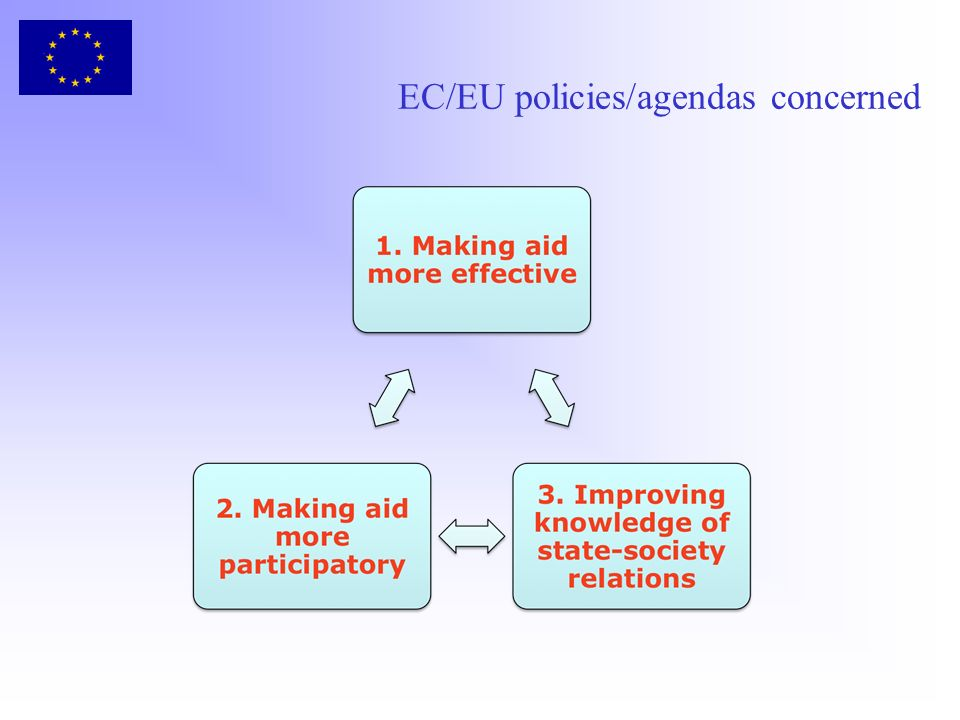EC/EU policies/agendas concerned