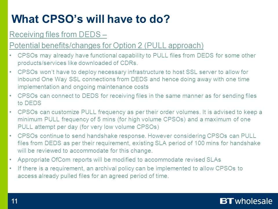 11 What CPSOs will have to do.