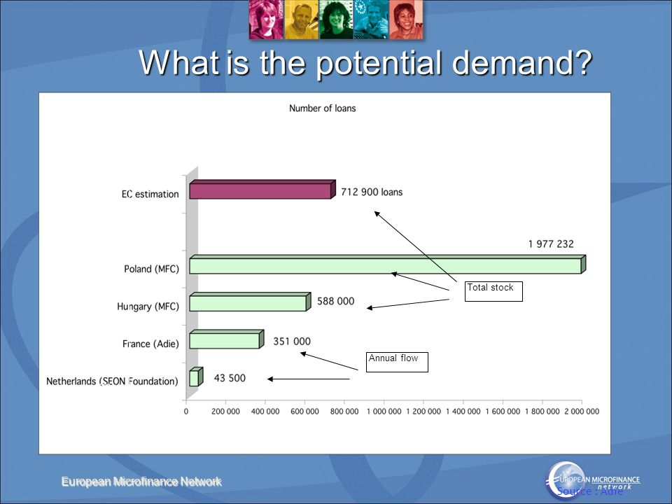 European Microfinance Network What is the potential demand.