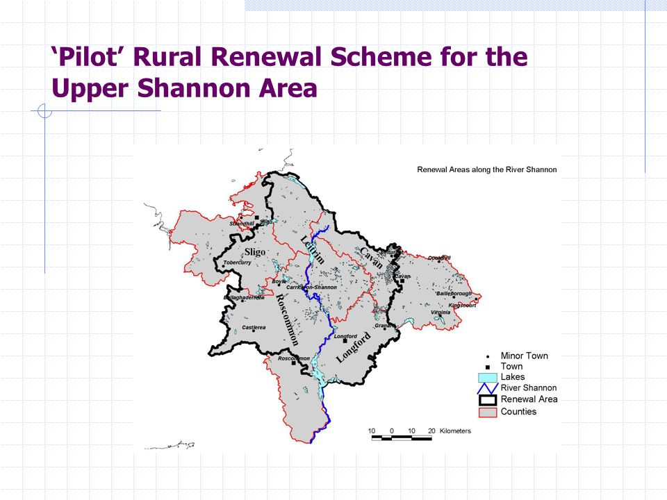 Pilot Rural Renewal Scheme for the Upper Shannon Area