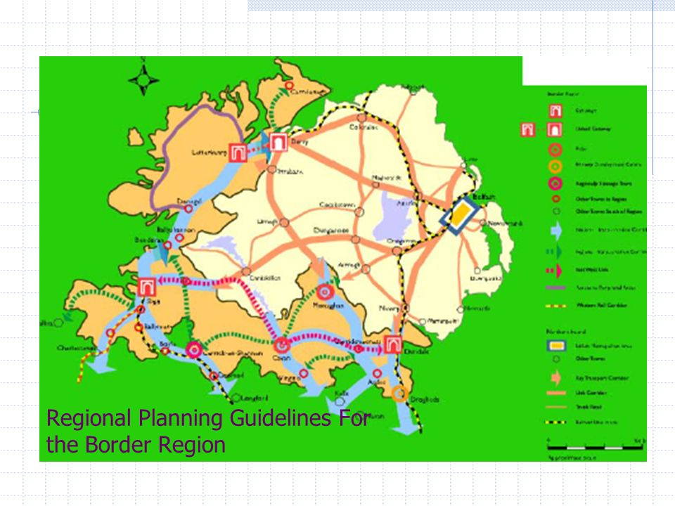 Regional Planning Guidelines For the Border Region