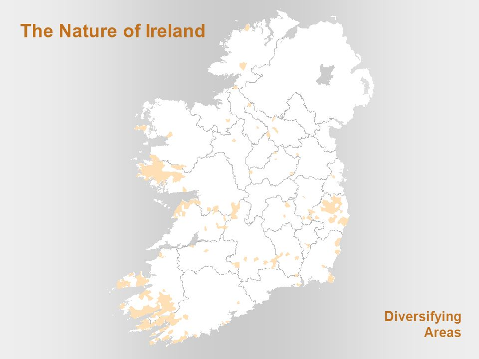 The Nature of Ireland Diversifying Areas