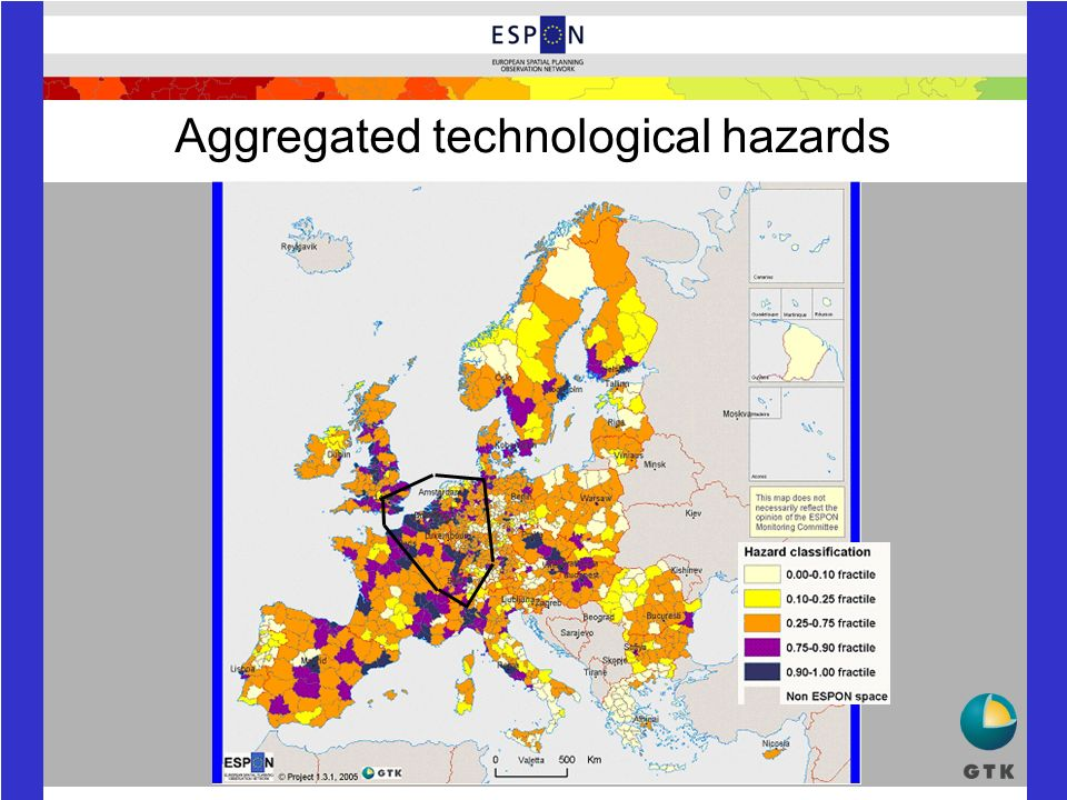 Aggregated technological hazards