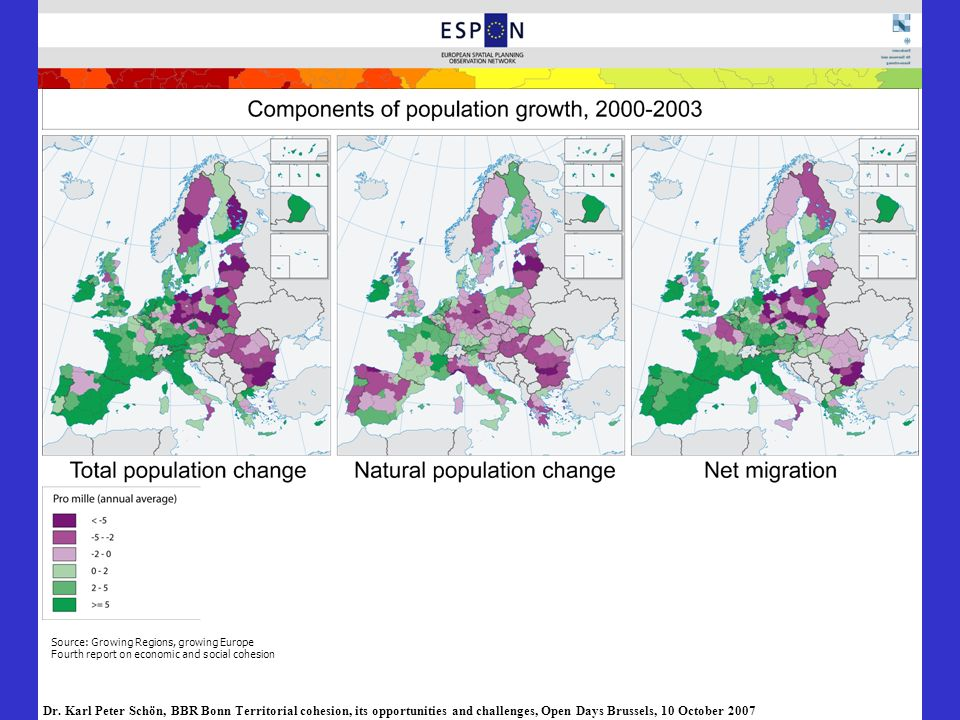 Source: Growing Regions, growing Europe Fourth report on economic and social cohesion