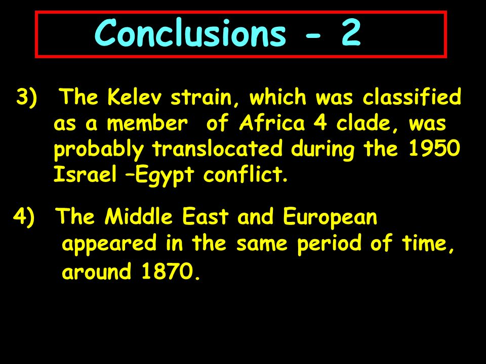 4) The Middle East and European appeared in the same period of time, around 1870.