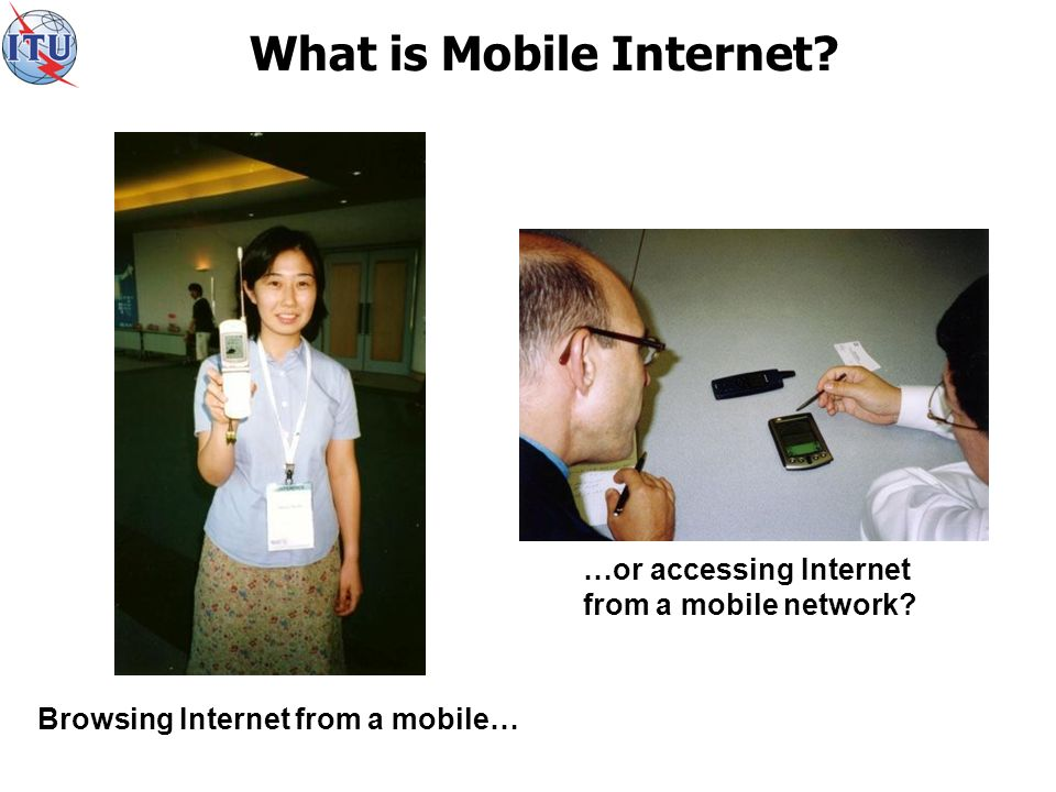 What is Mobile Internet.