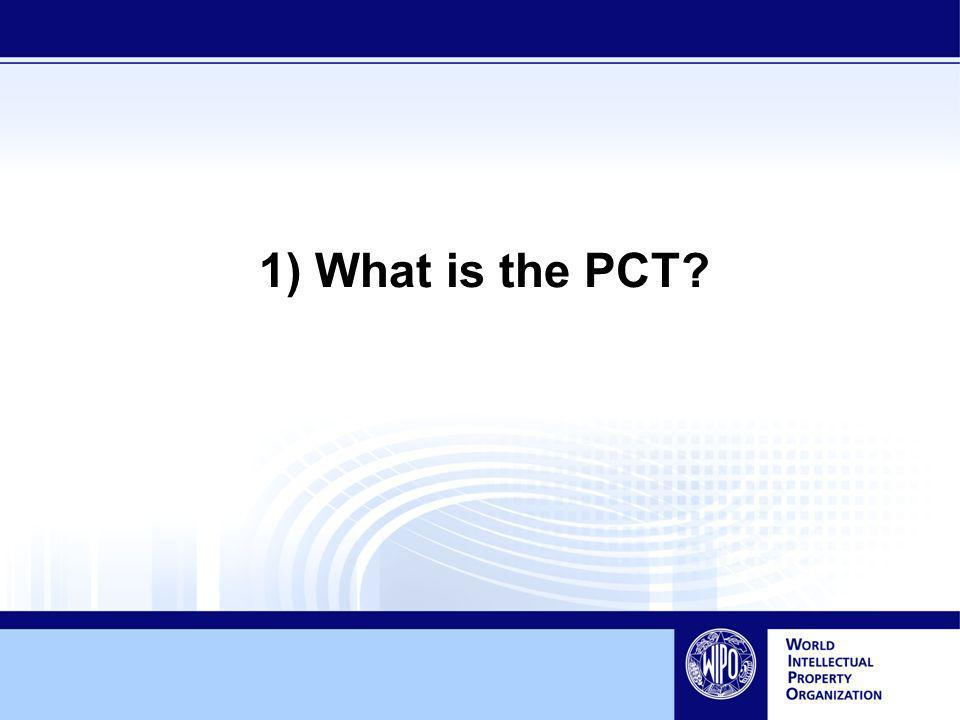 1) What is the PCT